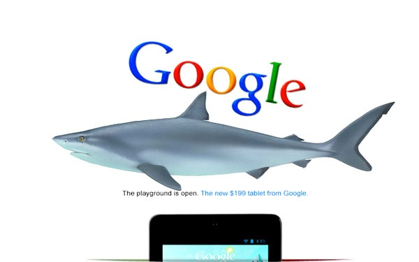 In case you missed it... Google digs #sharks #googleshark