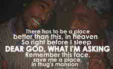 Tupac Shakur - Thugz Mansion (Chords)