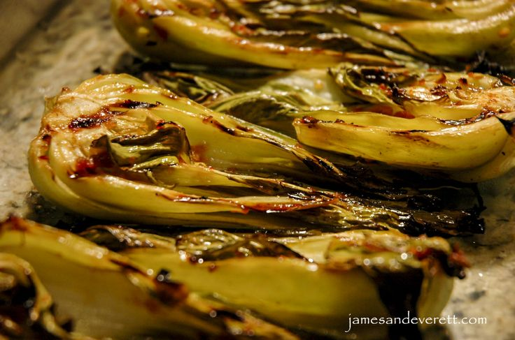 sweet soy glaze recipes dishmaps grilled bok choy with sweet soy glaze ...