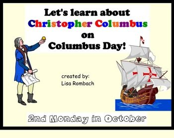 Learn about Christopher Columbus SmartBoard Lesson (.notebook file) $