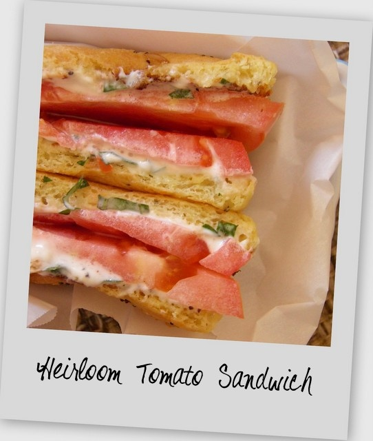 Heirloom Tomato Sandwich | Recipes | Pinterest