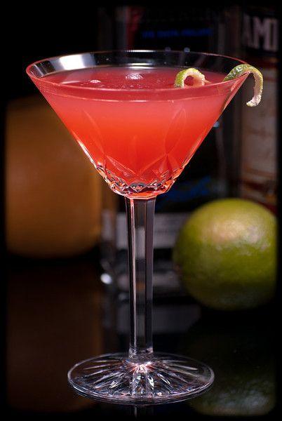 ... oz. Campari, ½ oz. fresh lime juice, 2 oz. fresh grapefruit juice