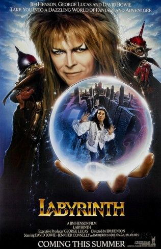 Labyrinth (1986) Style C Teaser Poster Masterprint at AllPosters.com Labyrinth 1986 Poster