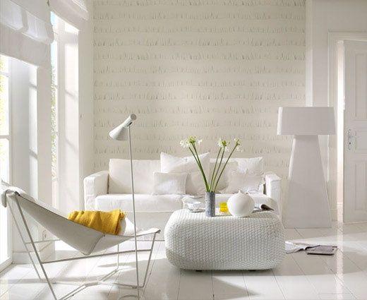 Ιδέες διακόσμησης στο απόλυτο λευκό