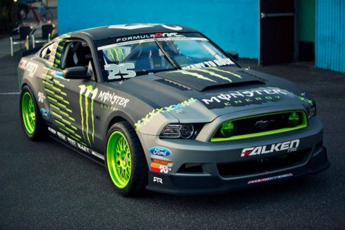 Monster Energy Ford Mustang.