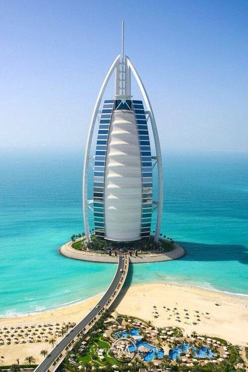 Burj Al Arab Dubai Beautiful Places Pinterest