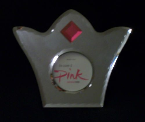 MARY KAY Mirrored Crown Picture Frame with Pink Jewel from Seminar 2006. New In Box! $14.99 obo