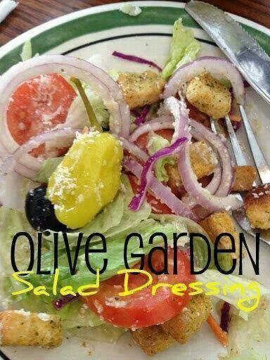 Olive garden salad dressing | Olive Garden copy cat recipes | Pintere ...