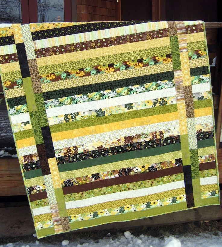 Easy Quilt Patterns For Jelly Rolls : PDF QUILT PATTERN.... Quick and Easy...one Jelly Roll ... Between the?