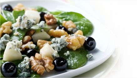 Missy's Candied Walnut Gorgonzola Salad Recipe — Dishmaps