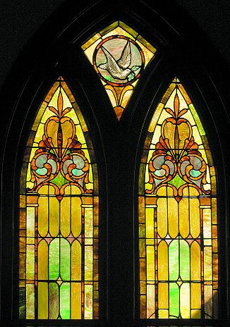 Church stained glass patterns church windows pinterest for Stained glass window church