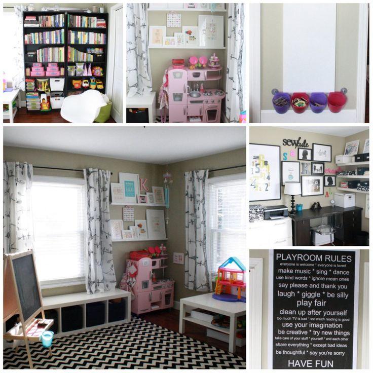 Playroom office project playroom ideas pinterest - Playroom office ideas ...