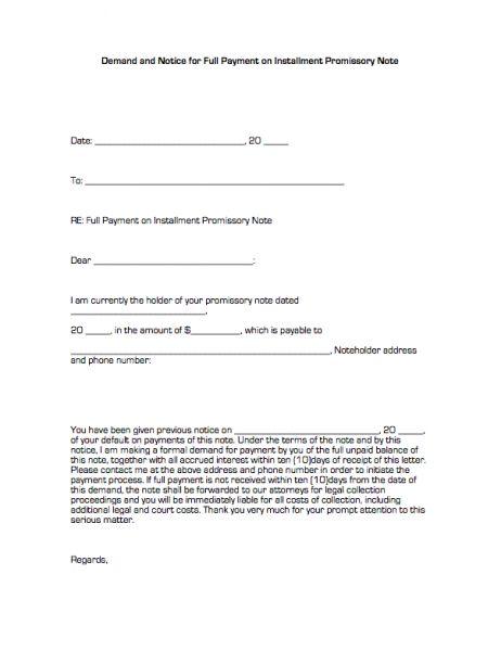 Demand Promissory Notes velocitycar