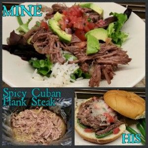 Slow Cooker: Spicy Cuban Flank Steak - Curls and Whey