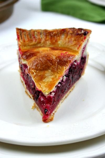 Scarborough FoodFair: Blackberry Raspberry Lemon Pie