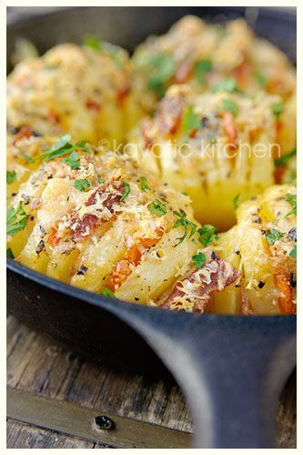 ... posts hasselback potatoeswith bacon parmesan basil and garlic 48199