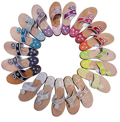 Jack Rogers sandals now available at Perspicasity, Seaside Classic, and Seaside Kids!