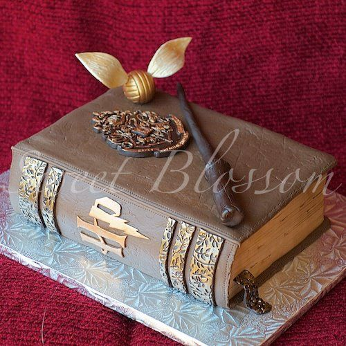 Cake Harry Potter Book : Harry Potter Book Cake Craft Ideas Pinterest
