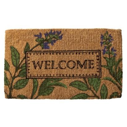 Smith Hawken Doormat Welcome Garden Ideas Pinterest
