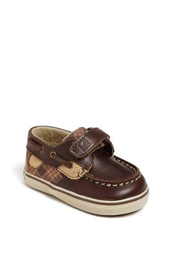 Sperry Top-Sider Kids 'Bluefish' Crib Shoe (Baby) available at