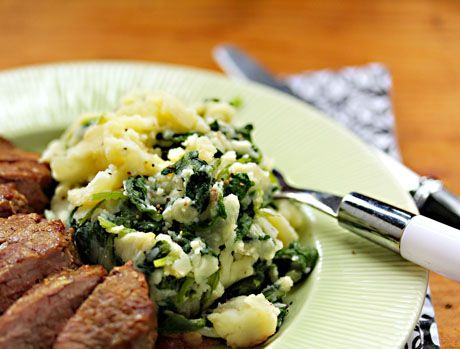 Boerenkool (kale with mashed potatoes), a vegetarian and gluten-free ...