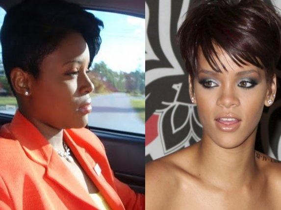 Rihanna Look A Like   ...
