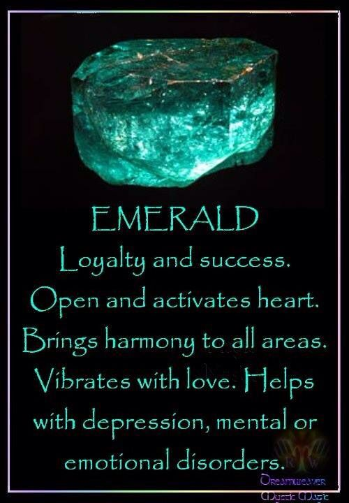 the meaning of the gem emerald crystals semi