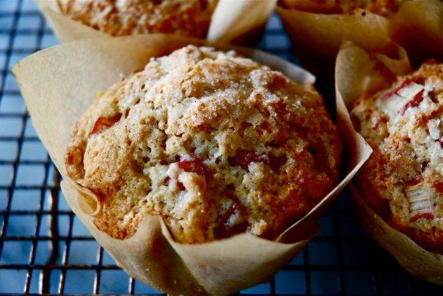 Rhubarb Cardamom Breakfast Muffins   Desserts/Baking   Pinterest