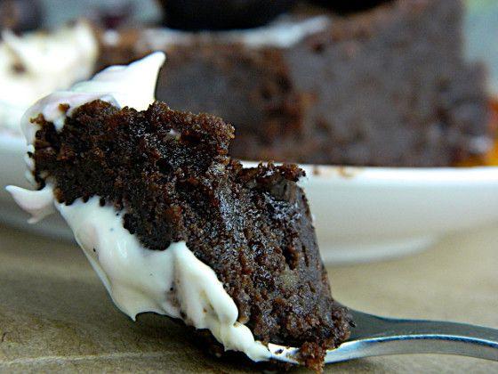 Silvias Gianduia - Hazelnut and Dark Chocolate Flourless CAke