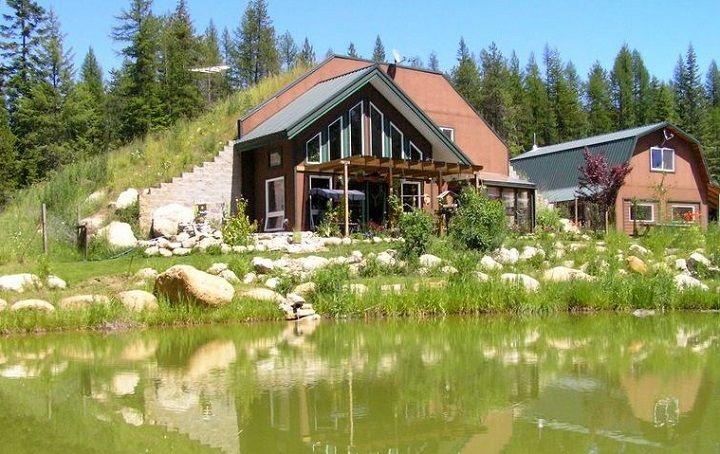 Earth berm home designs for Earth bermed homes