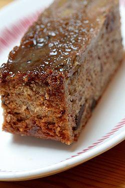 Banana & Chocolate Chip Upside-Down Cake by daveleb, via Flickr