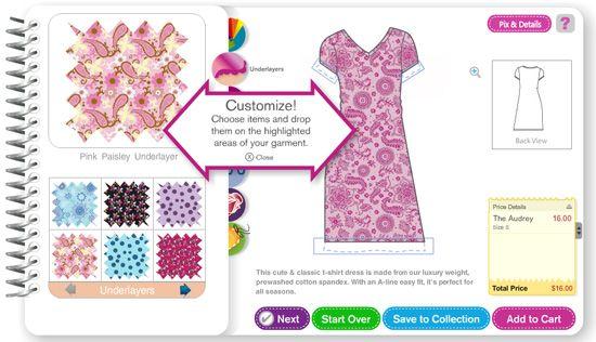 Fashion playtes get future stella mccartneys to design online
