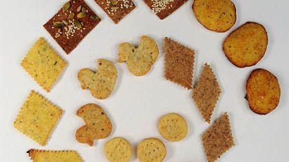 ... Olive Oil Crackers, Biscotti di Vino, Herbfarm's Rye Caraway Crackers