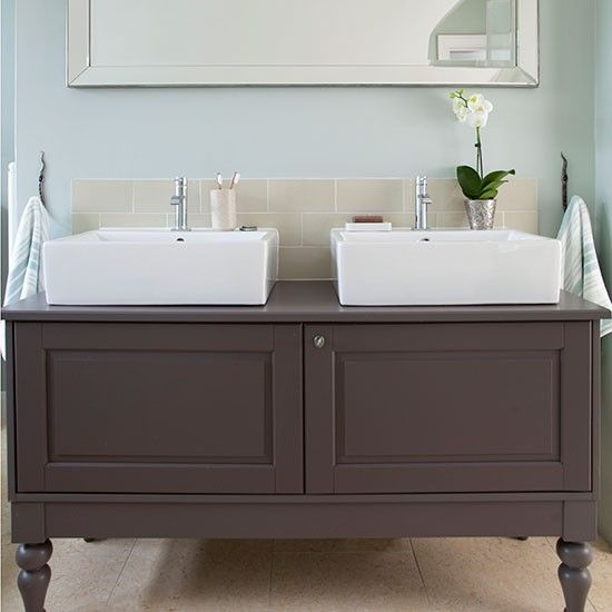Mint Green Bathroom With Vanity Unit House Stuff Pinterest