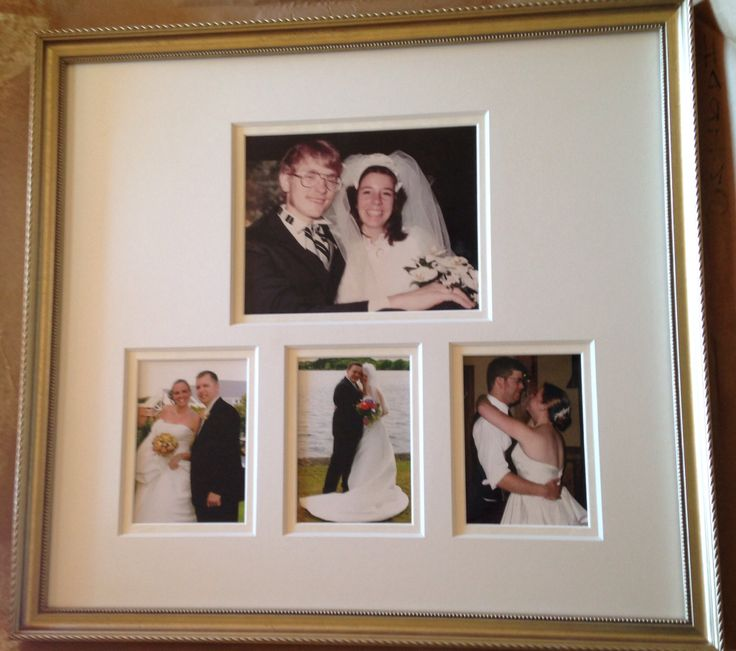 40th Wedding Gift For Parents : 40th Anniversary gift for our parents. Their wedding picture framed ...
