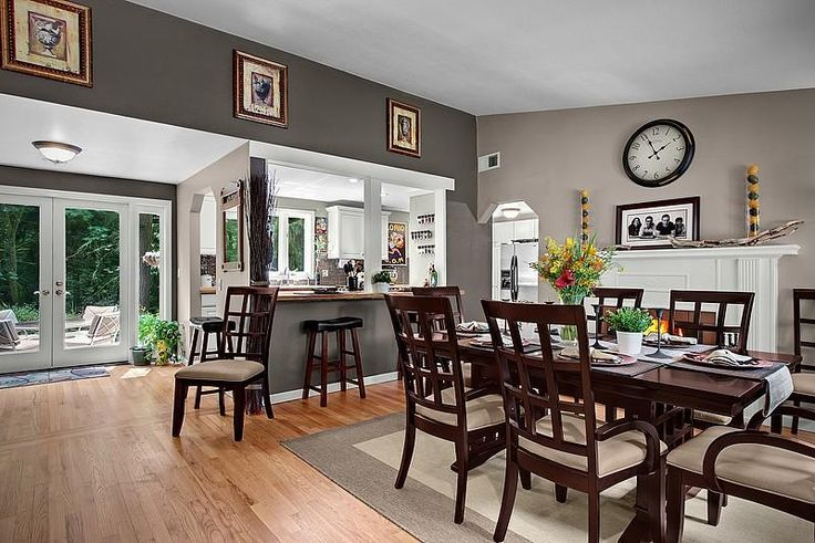 Pin by marianne callahan on home decor pinterest for Galley kitchen open to dining room