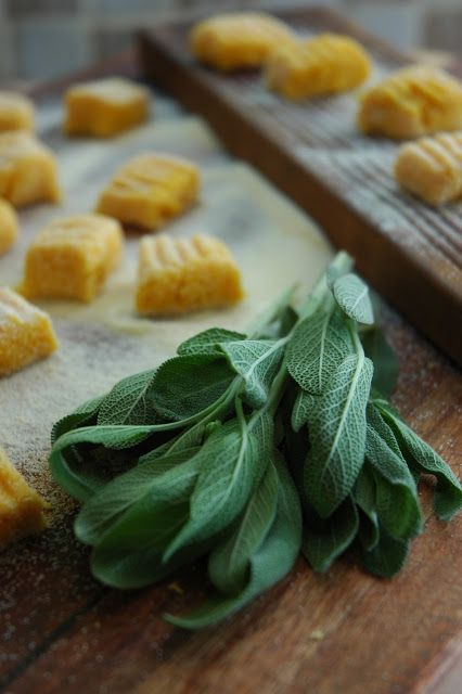Butternut Gnocchi with Sage and Blue Cheese | My Easy Cooking
