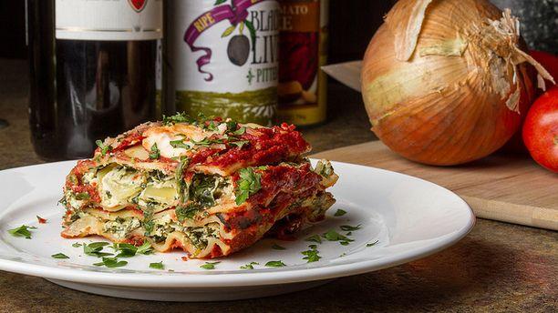 Vegan} Crock Pot Lasagna – The Flaming Vegan: A Vegan and Vegetarian ...
