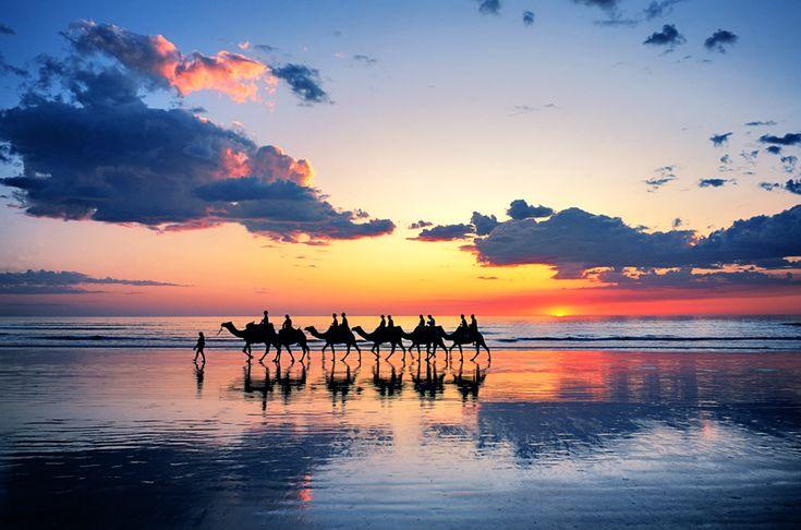 the Dubai beach in the morning...