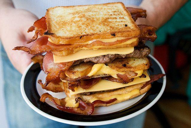 The Bacon Hamburger Fatty Melt by Serious Eats, via Flickr