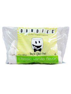 Dandies Air-Puffed Classic Vanilla Marshmallows