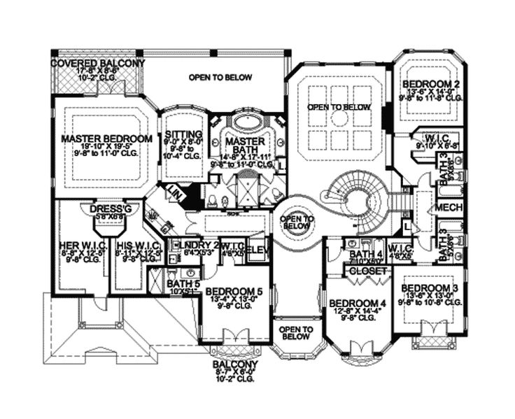 Spiral Staircase And Large Master Suite Nice Floor