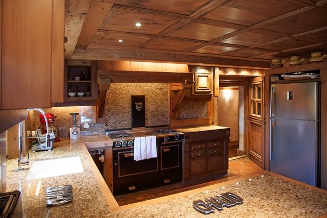 Chalet KITCHEN Mountain Homes Cottages And Cabins Pinterest