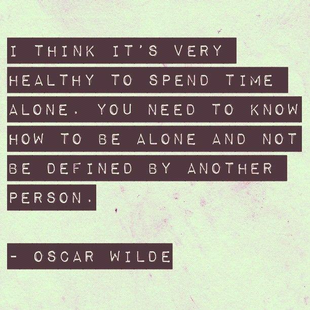 gotta love Oscar Wilde