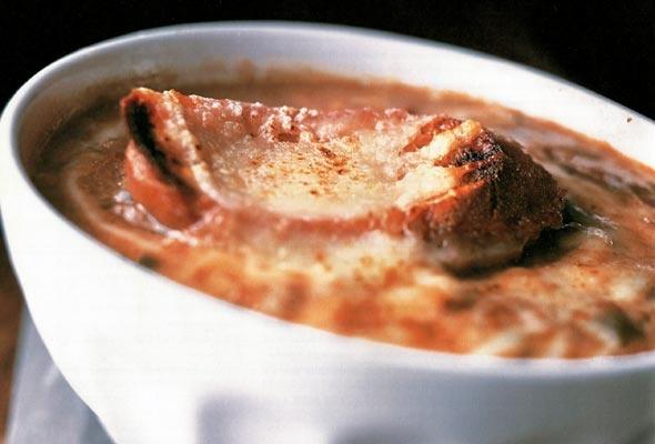 Gooey, Cheesy Baked French Onion Soup | Recipe