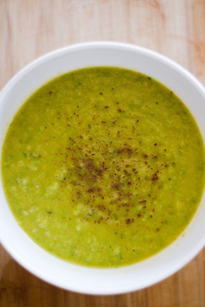 asparagus soup. asparagus, olive oil, salt, onion, leeks, yukon gold ...