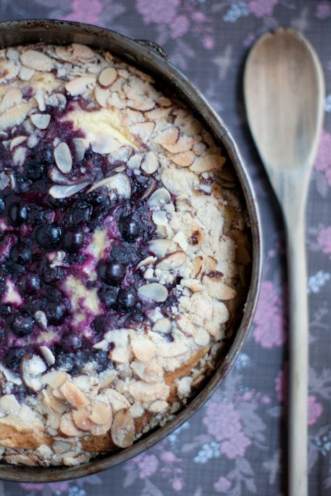 Blueberry Cream Cheese Coffee Cake - I just made this for breakfast ...