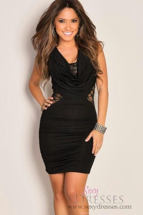 explore little black dresses