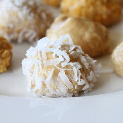 Peanut Butter Snack Balls | Food | Pinterest