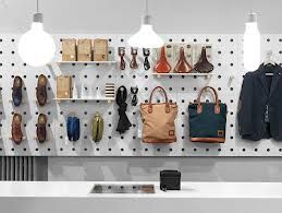 retail design - Great use of peg board